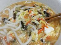 康寶川式酸辣烏龍湯麵