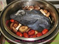 電鍋版:紅棗香菇雞湯