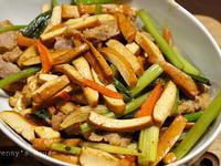 椒麻豬肉炒三絲