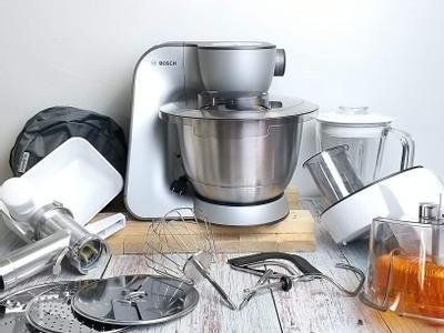 家庭料理烘焙的時尚好幫手【Bosch精湛萬用廚師機】
