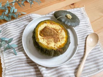 🎃南瓜盅馬斯卡彭乳酪蛋糕:法國鮮奶油意想不到的創意料理