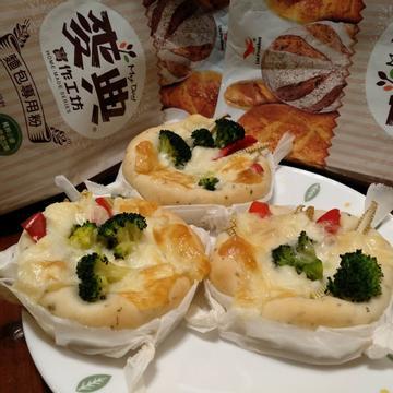 Ling 跟著做了時蔬佛卡夏【麥典實作工坊麵包專用粉】