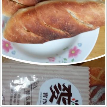 勇兔跟著做了甜蒜法國麵包【麥典實作工坊麵包專用粉】