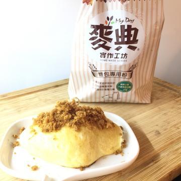 Tina Liao跟著做了海苔肉鬆麵包【麥典實作工坊麵包專用粉】