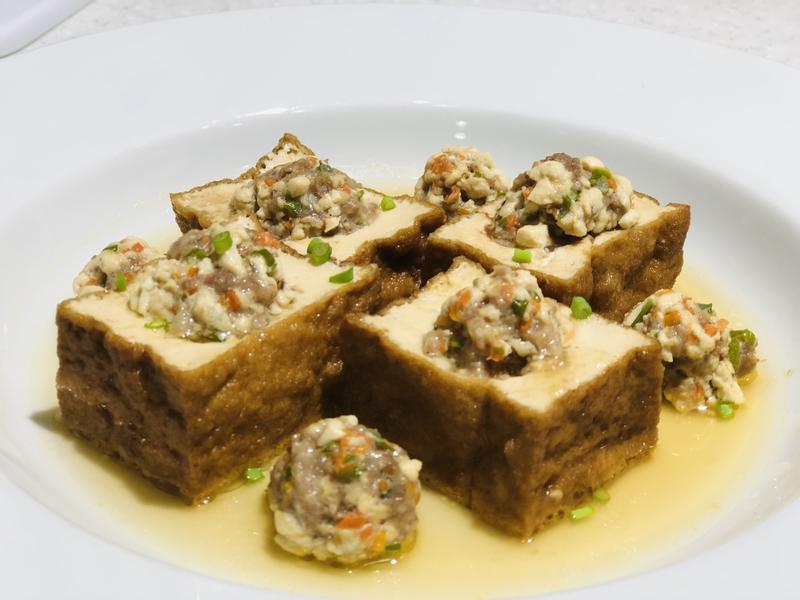 中華鹽滷豆腐/鹽滷油豆腐~美味體驗的第 3 張圖片