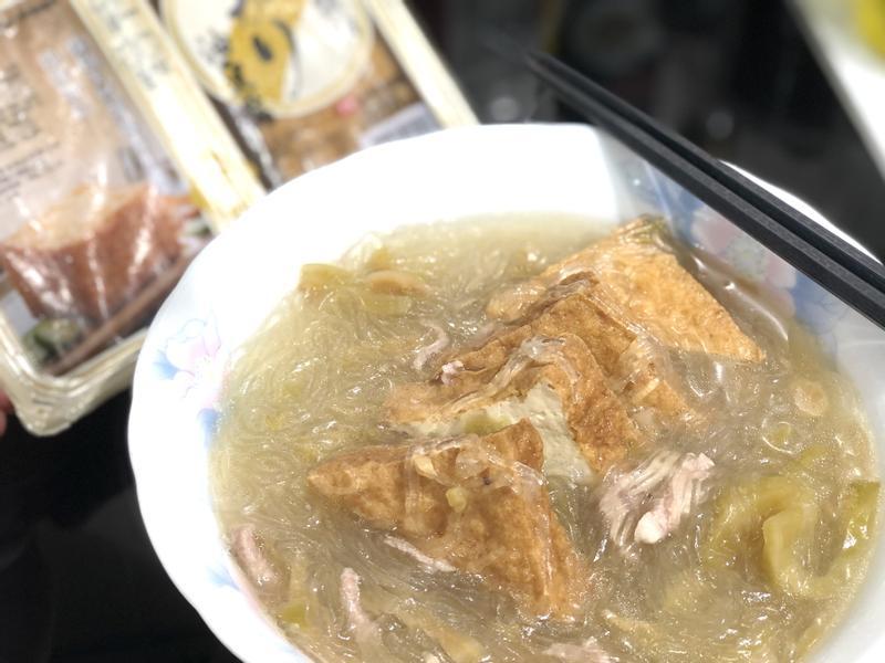 中華鹽滷豆腐/鹽滷油豆腐~美味體驗的第 4 張圖片