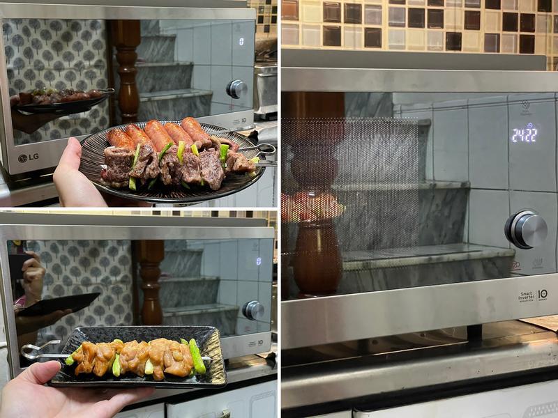 LG 智慧變頻蒸烘烤微波爐,讓你宅煮變大廚!的第 12 張圖片