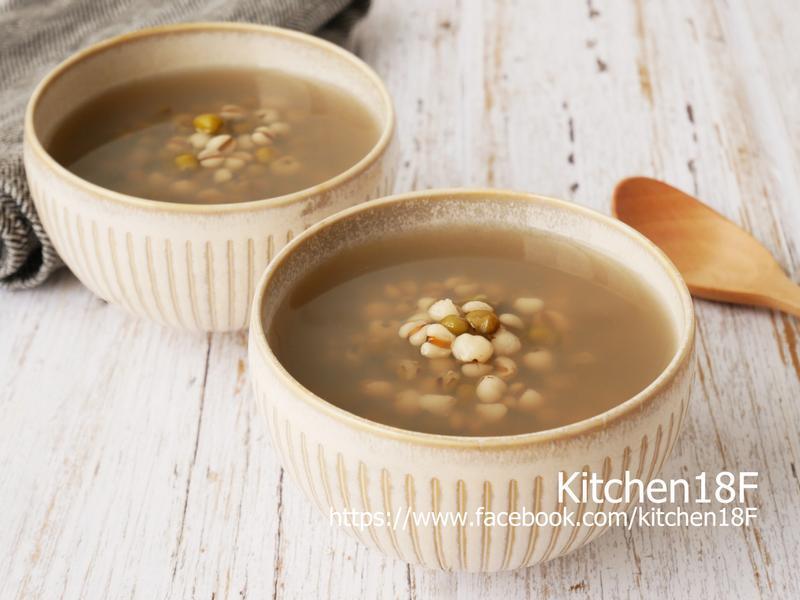 綠豆薏仁湯_電子鍋料理
