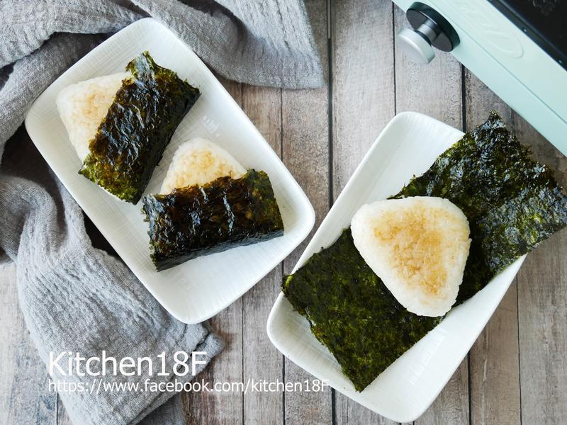 鮪魚玉米烤飯糰_燒烤盤料理