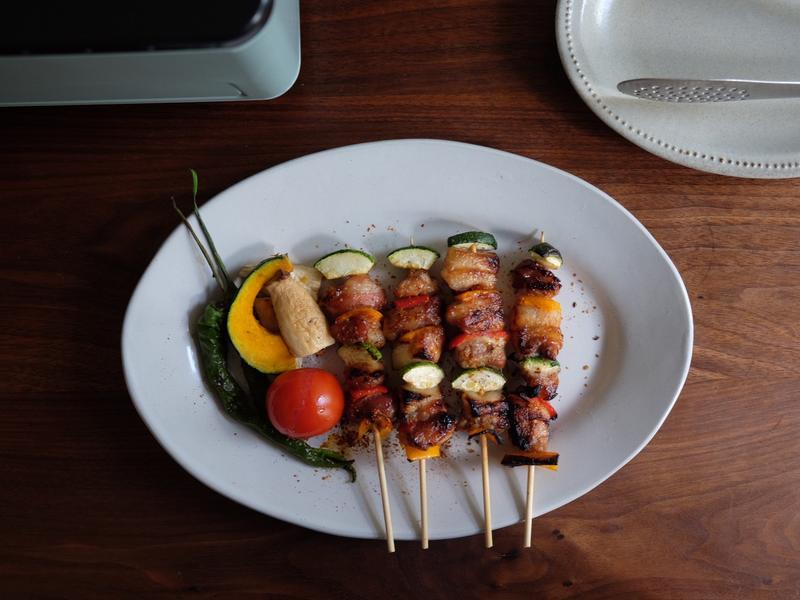 週末の一品 - 台味豬五花串