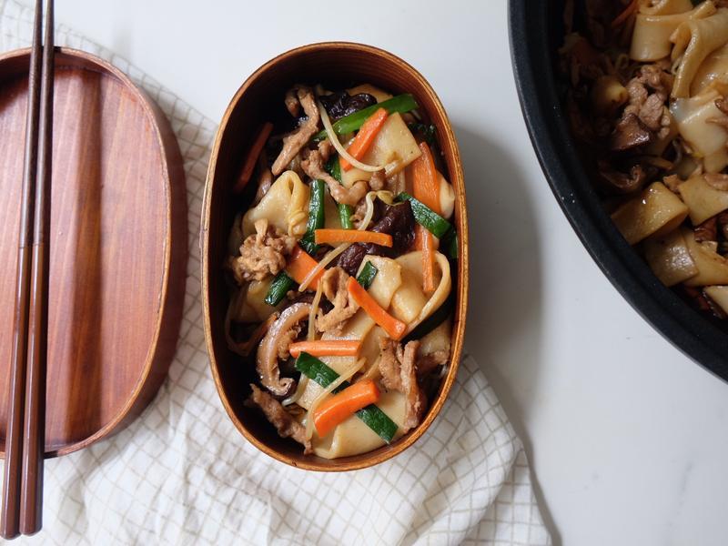 台灣味研究#3 - 炒豬肉板條