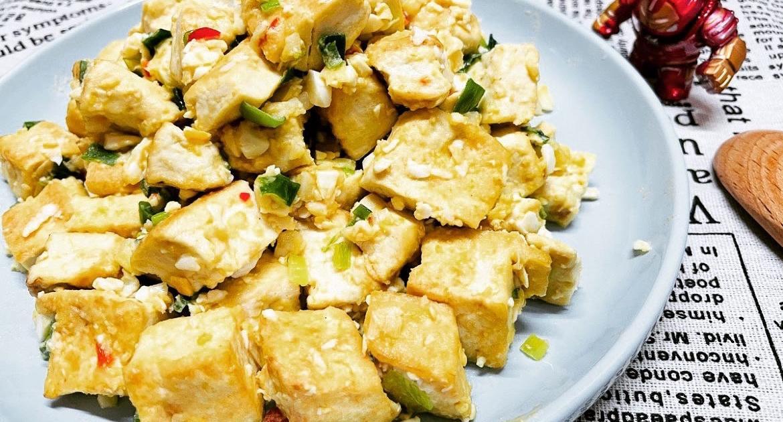金沙豆腐成品
