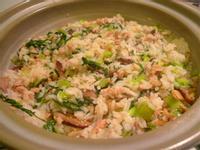 超有年味的砂鍋上海菜飯 (燻雞肉版)