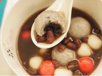 香Q芝麻麻吉燒紅豆甜湯