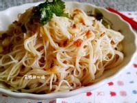 蒜香麻油麵線