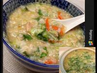鮪魚蔬菜粥