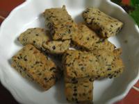 黑芝麻酥餅