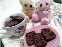 巧克力餅乾♥拌拌切切簡單完成