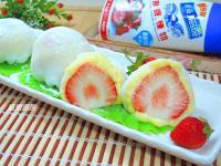 煉奶卡士達草莓大福✿『鷹牌煉奶』
