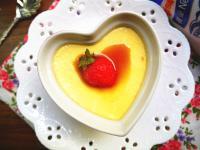 【簡易電鍋版】草莓煉奶布丁『鷹牌煉奶』