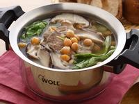 快煮湯-雪蓮子鮮香菇肉片湯