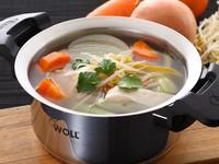 快煮湯-清甜蔬菜雞肉湯