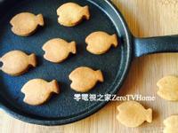 大同電鍋做餅乾~無油全麥小魚餅乾