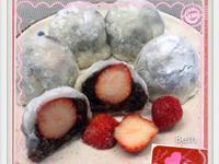 紅豆草莓大福♥️情人節♥️烘焙展食譜募集
