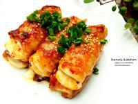 豆腐起司肉片捲