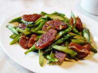 年菜記錄-蘆筍炒臘腸