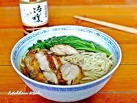 茼蒿鷄肉煨麵【淬釀節氣食譜】