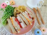 黑麥總匯三明治【HOLA幸福食堂】