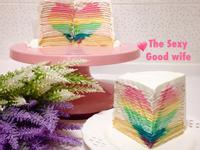 《養樂多彩虹千層蛋糕》閒妻涼姆