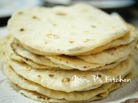 自製墨西哥薄餅Tortillas