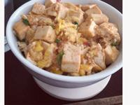 一人輕鬆煮☼滑蛋豆腐蓋飯