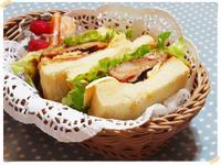 照燒雞腿很多生菜三明治【烘焙展食譜募集】