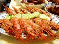 天使紅蝦三吃 之 乾煎