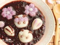 喜羊羊 x 小兔 x 櫻花-造型湯圓
