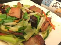 臘肉炒蒜苗「淬釀開運年菜」