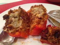 墨西哥式甜椒鑲肉