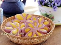 帶著春天氣息的紫花饅頭