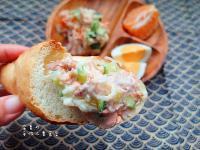 《電鍋版》鮭魚馬鈴薯沙拉