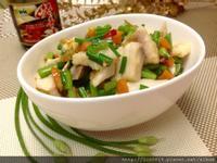 韮菜花醬炒鯛魚