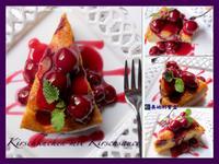 櫻桃蛋糕 淋櫻桃醬