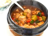 海鮮拌大醬湯, 해물강된장찌개