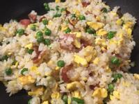 培根青豆蛋炒飯