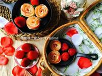 春日裡的幸福花:玫瑰蘋果派、草莓玫瑰花