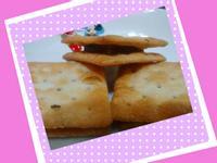 蘇打餅乾夾紅豆年糕