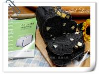 竹炭乳酪大蒜吐司-パンの(胖)鍋製麵包機