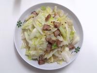 鹹豬肉炒高麗菜